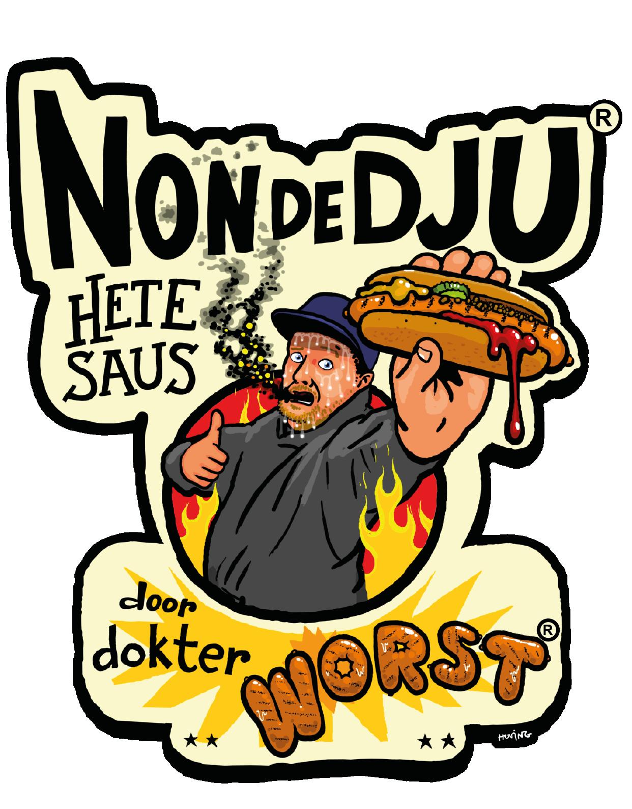 Logo Dokter Worst Nondedju Hete Saus