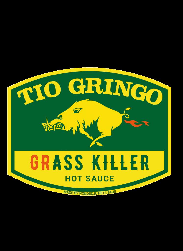 Tio Gringo hete saus label